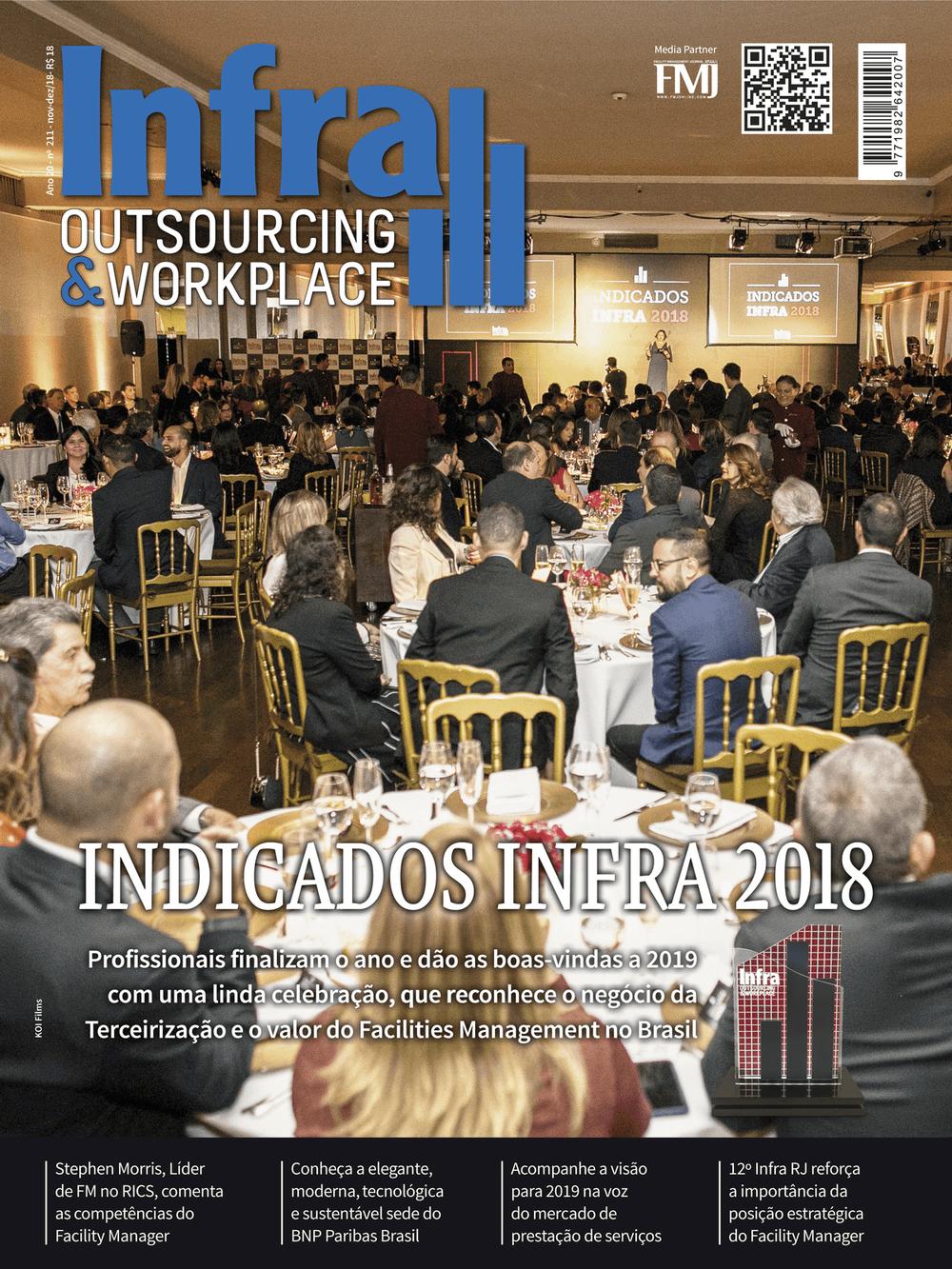 Imagem Capa Revista Infra Outsourcing & Workplace 1º Trimestre/2019